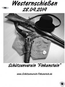 Westernschießen 2019 @ Schützenheim
