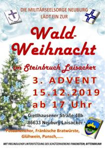 Weihnachtsfeier 2019 @ Steinbruch beim Schützenheim Finkenstein Bittenbrunn-Laisacker